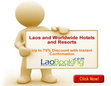 LaoBooking.com - Online hotel, tour and car rental reservation in Laos with instant confirmation, pay at hotel